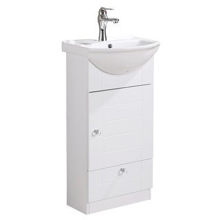 Superieur Small Wall Mounted Cabinet Vanity Bathroom Sink With Faucet Easy Assemble