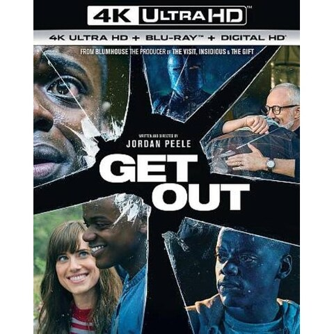 Get Out - 4K Ultra HD Blu-ray