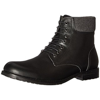English Laundry Mens Wynn Ankle Boots Leather Cuffed