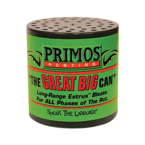 Primos 738 primos deer call can style the great big can