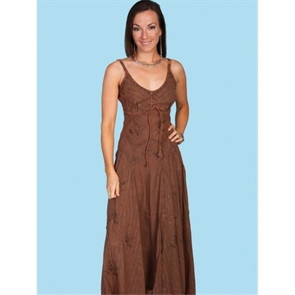 c36e4f8d2ed Shop Scully Hc62-Cop-Xs Honey Creek Womens Dress - Copper Extra Small -  Free Shipping Today - Overstock - 27106190