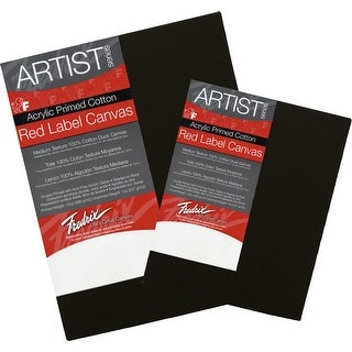 Fredrix Red Label Canvas, 11 x 14 in, Black