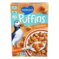 Barbara's Bakery Puffins Cereal - Cinnamon - Case of 12 - 10 oz.