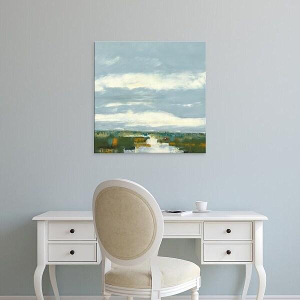 Easy Art Prints Ronda Waiksnis's 'Towards Red Wine' Premium Canvas Art
