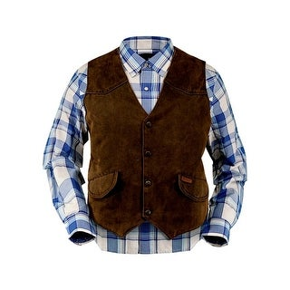Link to Outback Trading Western Vest Mens Montana Button Front Brown Similar Items in Women's Outerwear