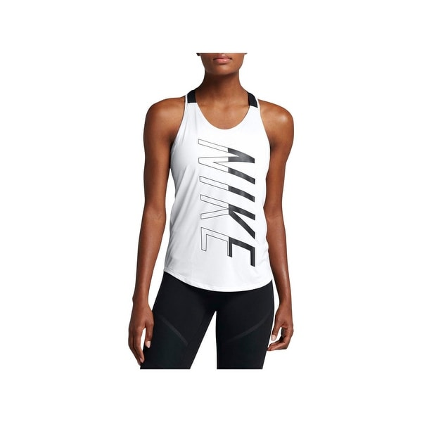 ee5a3a060b2689 Shop Nike Womens Breathe Tank Top Training Strappy Back - Free ...