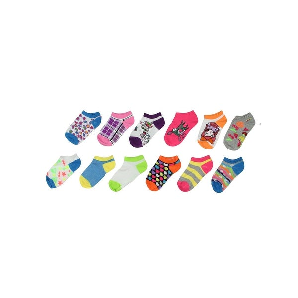 Collettie Betty Girls Casual Socks Printed Knit - 4-6