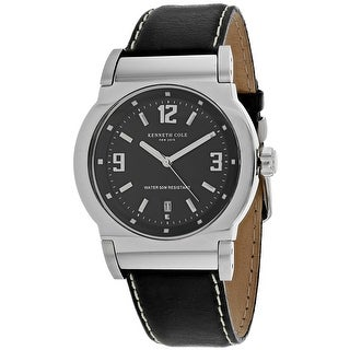 Kenneth Cole Men's Classic Black Dial Watch