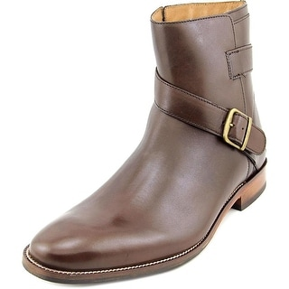 Cole Haan Williams Jodphur II Women Round Toe Leather Brown Ankle Boot