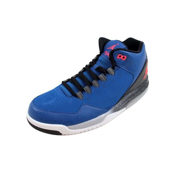 37c5fc474bc717 Shop Nike Men s Air Jordan Flight Origin 2 French Blue Infrared 23 ...