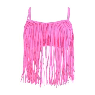 Coco Rave Women's Tatum Fringe Bikini Top