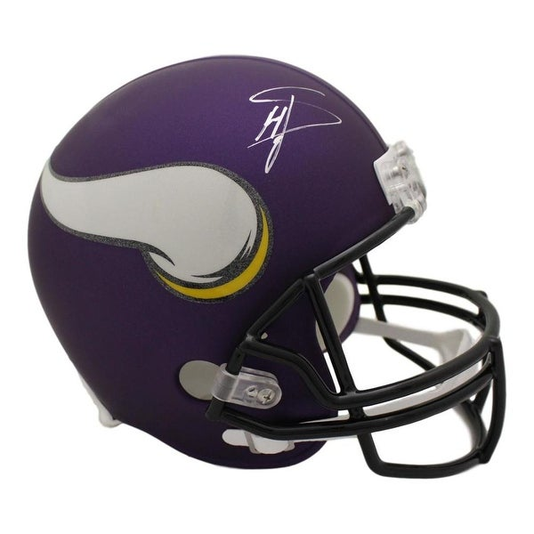 Shop Stefon Diggs Autographed Minnesota Vikings Replica Helmet JSA - Free  Shipping Today - Overstock - 22390216 bc17c8f2d