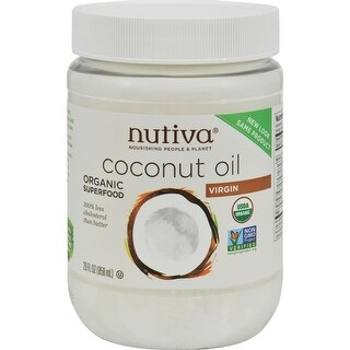 Nutiva - Extra-Virgin Coconut Oil ( 1 - 29 FZ)