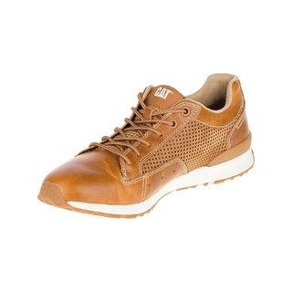 Caterpillar Mens Signify Sneakers in Brown Sugar/Artisan Gold (Option: 8.5)