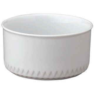 HIC NT386 Porcelain Snack Dish, 8 Oz.