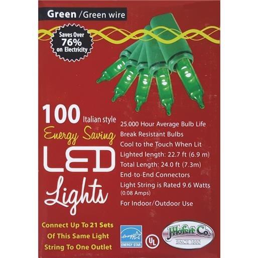J. Hofert 100Lt Led Mini Grn Light 2290-05 Unit: EACH