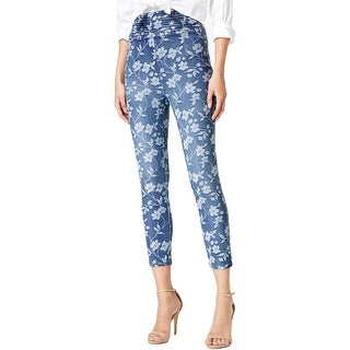 Guess Womens Skinny Jeans Floral High Rise