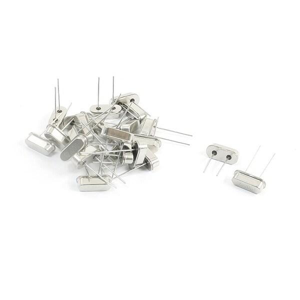 Unique Bargains 24Pcs 12.000MHz 20PF HC-49S 2-Terminal Silver Tone Crystal Oscillators