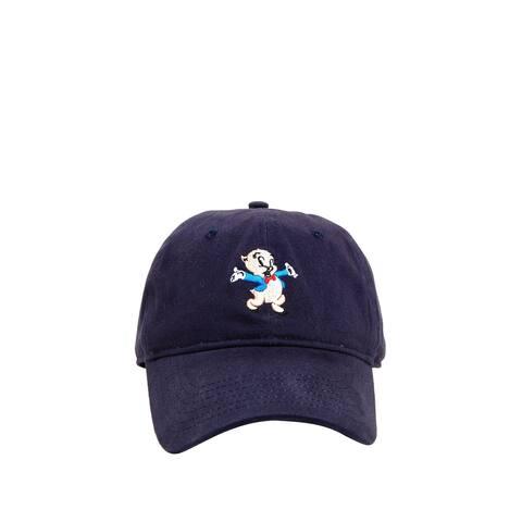 Looney Toons Authentic Baseball Hat Cap Women Men Teen Adult Sz - Porky Pig