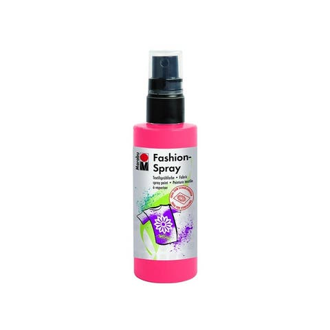 17199050212 marabu fashion spray paint 3 4oz flamingo