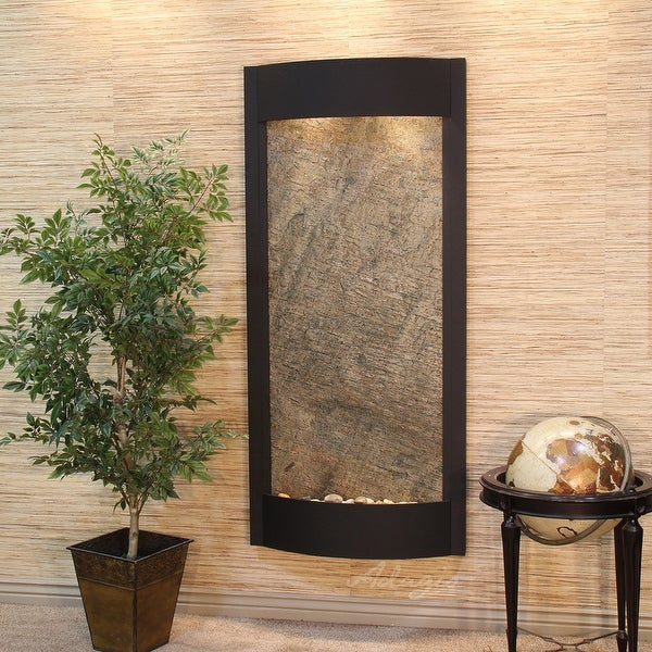 Adagio Pacifica Waters Fountain with Textured Black Finish - Multiple Colors Available