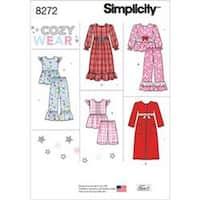 7-8-10-12-14 - Simplicity Child / Girl Sleepwear 8272