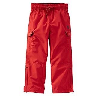 OshKosh B'gosh Baby Boys' Jersey-Lined Cargo Pants - 6 Months