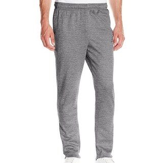 Adidas NEW Heather Gray Mens Size 2XL Team Issue Fleece Tapered Pants