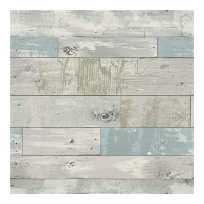 Beachwood Peel & Stick Wallpaper - 216in x 20.5in x 0.025in