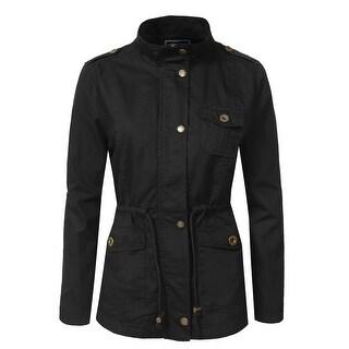 NE PEOPLE Women's Military Anorak Jacket [NEWJ200]