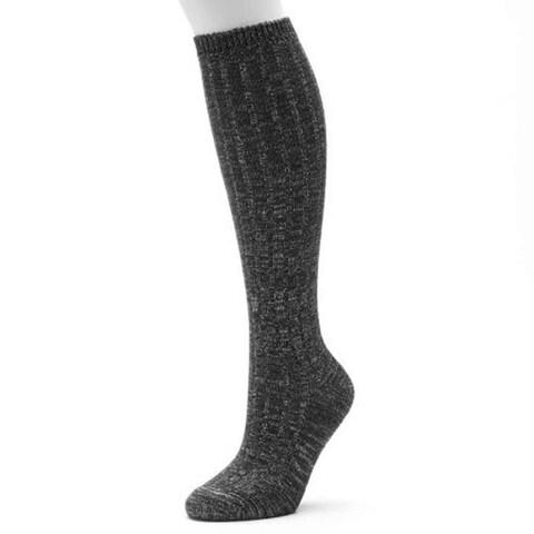 Sonoma Life + Style Ribbed Shiny Knee High Socks Women - 9-11