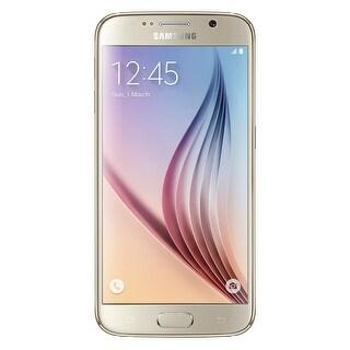 Samsung Galaxy S6 G920V 32GB Verizon CDMA GSM 4G LTE Octa-Core w/ 16MP Camera - Gold (Certified Refurbished)