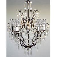 Versailles Wrought Iron Chandelier Lighting Empress Crystal Chandelier Lighting With Crystals