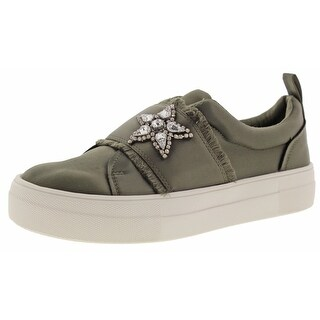 Steve Madden Graphic Women's Satin Sneakers Shoes