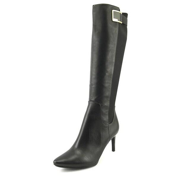 Calvin Klein Jaidia Wide Calf Black Boots