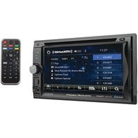 """6.2"""" Incite Double-DIN In-Dash Detachable LCD Touchscreen DVD Receiver with Bluetooth(R) (SiriusXM(R) ready)"""