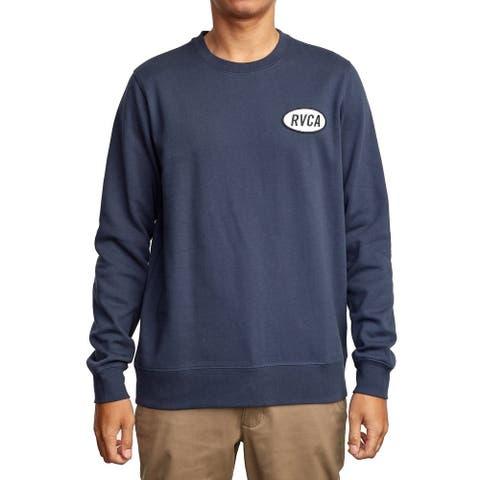RVCA Mens Sweatshirt Small Pullover Crewneck Graphic Logo