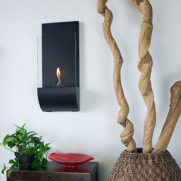 Nu Flame Torcia Wall Mounted Fireplace