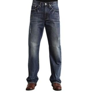 Stetson Western Denim Jeans Mens Modern Fit Medium 11-004-1312-4022 BU