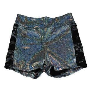 Reflectionz Girls Black Metallic Lace Trim Dance Shorts 8-10|https://ak1.ostkcdn.com/images/products/is/images/direct/b8b66dfce123e9051e60050dee51ff8c86a4966d/Reflectionz-Big-Girls-Black-Metallic-Lace-Trim-Dance-Shorts-8-10.jpg?impolicy=medium