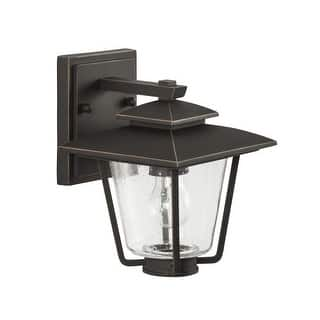 "Park Harbor PHEL1300 Ivy Cottage 9"" Tall Single Light Outdoor Wall Sconce