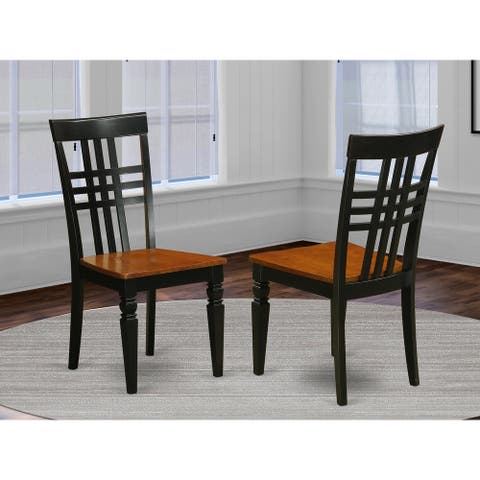 Logan Dining Set With Kitchen Table and Wooden Chairs - (Pieces Option)
