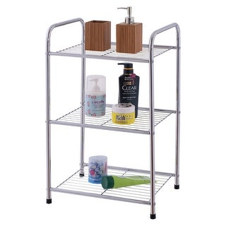 Costway 3 Tier Metal Storage Display Organizer Rack Shelves Shelving Home Kitchen