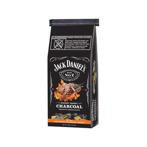 Jack Daniel's JD.WBC04.U.06 Whiskey Barrel Charcoal, 4 Lb.