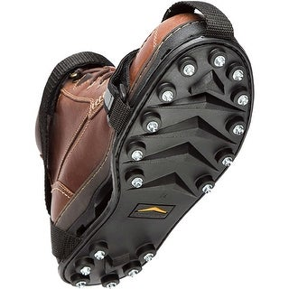 STABILicers Maxx Lightweight Removable Snow and Ice Traction Cleats - Black