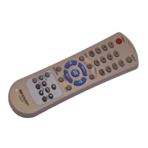 OEM Sharp Remote Control: LC15AV6U, LC-15AV6U, LC15SH6U, LC-15SH6U, LC20AV6U, LC-20AV6U