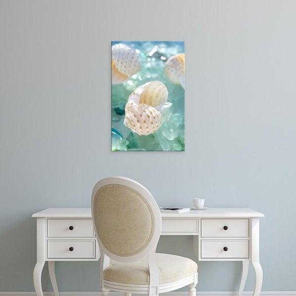 Easy Art Prints Alan Blaustein's 'Crystal Harbor #6' Premium Canvas Art