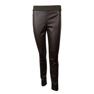 Lauren Ralph Lauren Women's Faux Leather Legging Pants - 12
