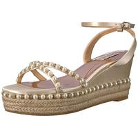 Badgley Mischka Women's Skye Espadrille Wedge Sandal - 10
