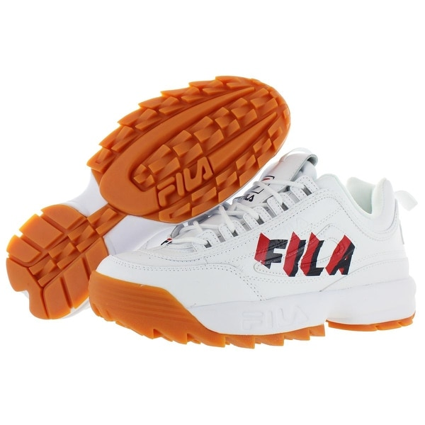 Shop Fila Mens Disruptor II Perspective Sneakers Leather